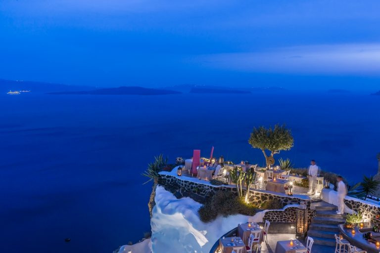 Lycabettus Restaurant | Best 9 private activities in Santorini