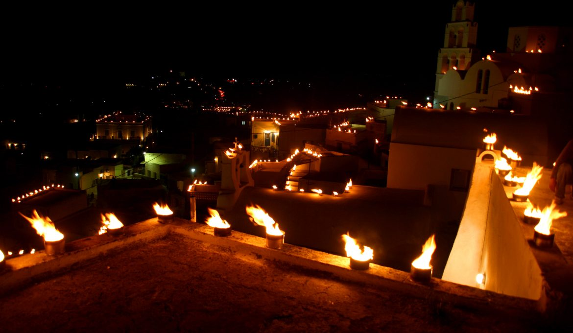 Easter in Pyrgos , Santorini | Andronis Blog