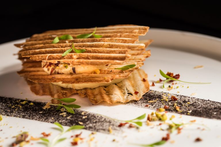 Millefeuille with Fava