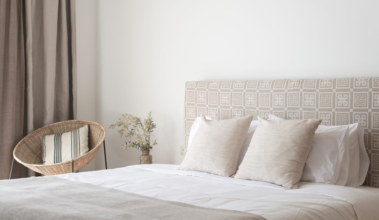 Bedroom in Andronis Arcadia, Oia, Santorini, Greece