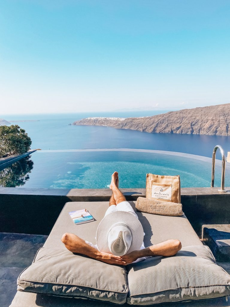 Relaxing vacation in Andronis Concept Wellness Resort in Santorini