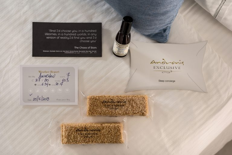 Sleep Concierge Services in Andronis Hotels, Oia, Santorini