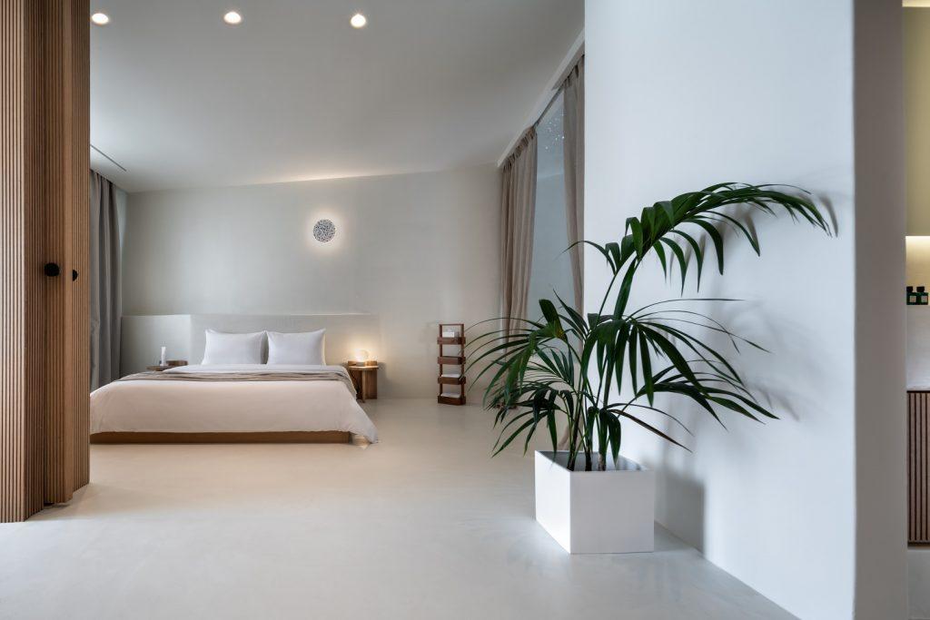 Interior space of Sunset villa Aristotelis