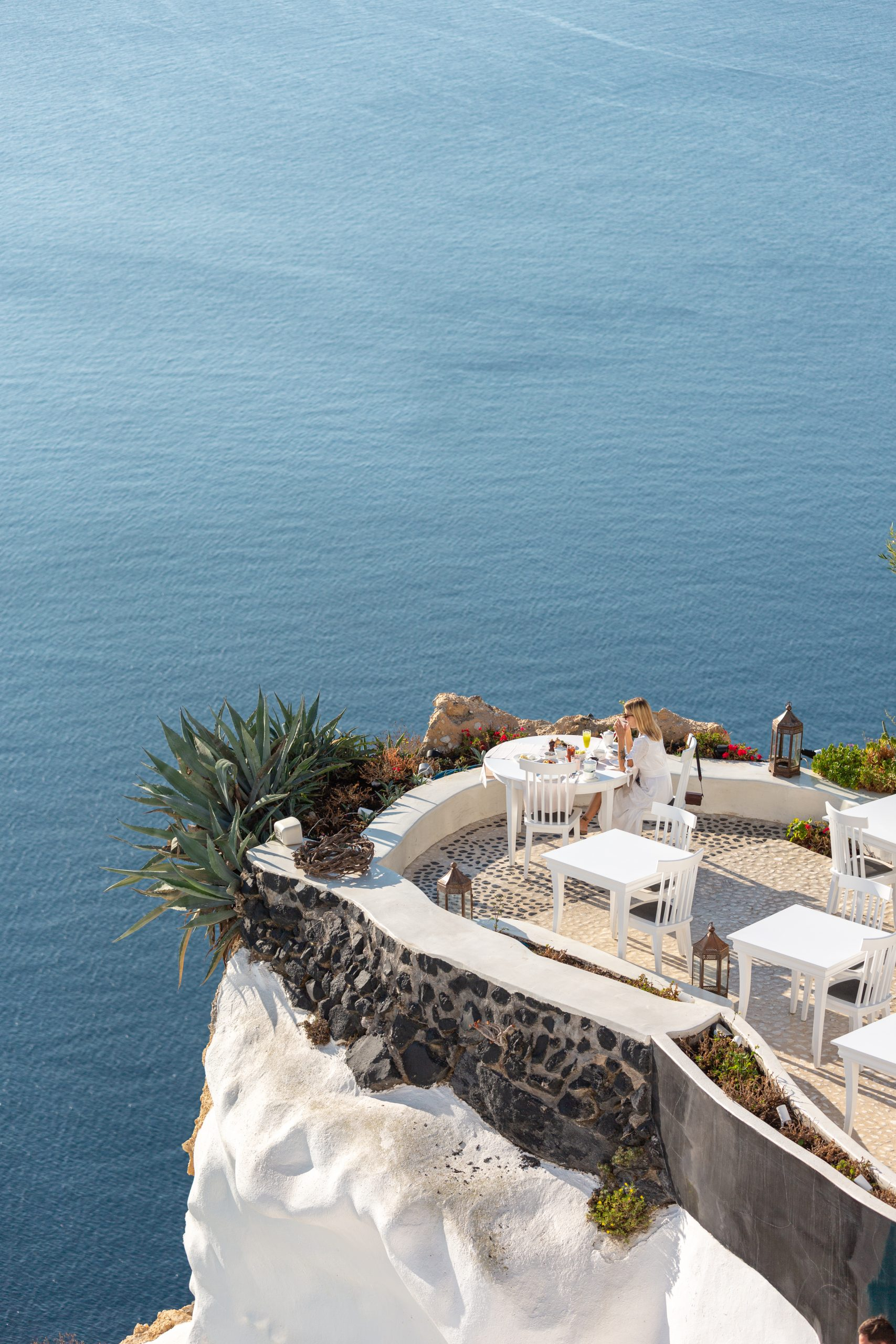 Lycabettus Restaurant Terrace, Santorini